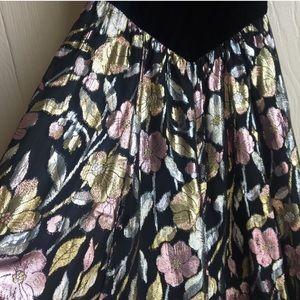 Jessica McClintock Dresses - Vintage Jessica McClintock Evening Maxi Dress